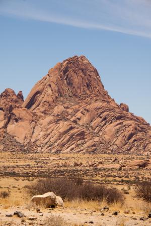The Spitzkoppe mountain in Namibia