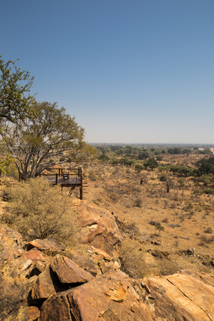 arroyo: Lookout Point in Mapungubwe National Park, South Africa, Africa Stock Photo