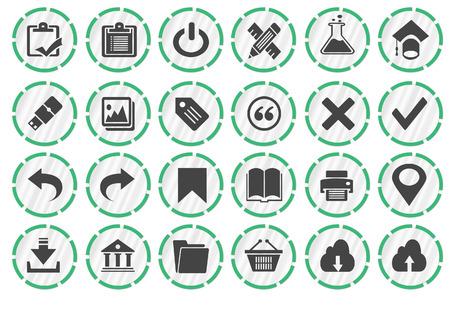 icons web Banco de Imagens