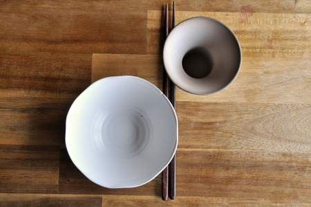 lacquered: Asian Dish Set