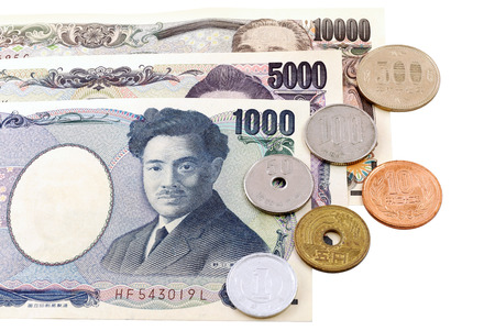 Japanese Yen currency bills photo