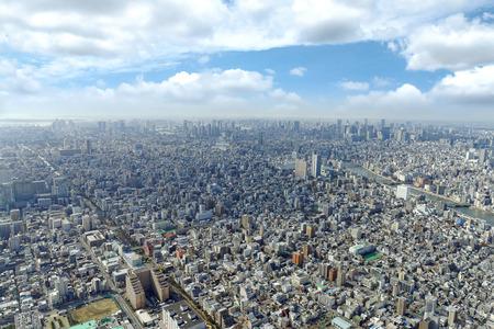 Tokyo cityscape Editöryel