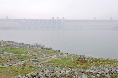 xiling gorge: Three Gorges Dam Yichang city China