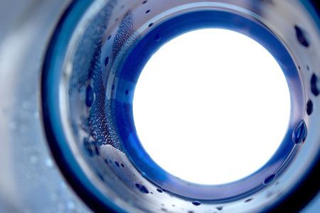 bottleneck: Abstract water blue bottleneck background