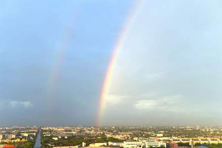 sunspot: The twin rainbow bridge