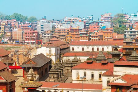 The Pashupatinath Temple is a famous   Located  on the banks of the Bagmati River in Kathmandu, Nepal. Imagens