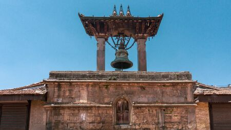 Small Bell near ancient Patan Durbar Square, Kathmandu, Nepal