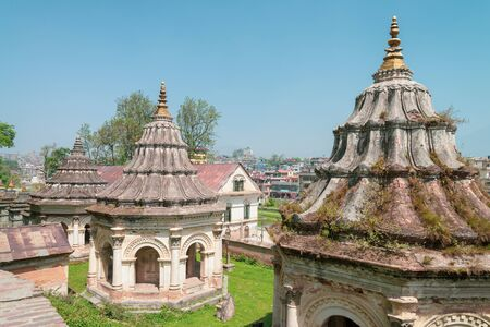 Guhyeshwari Temple is one of the holiest shrines of Hindus. It is one of the revered holy temples in Kathmandu, Nepal. Located near the Pashupatinath temple Stok Fotoğraf