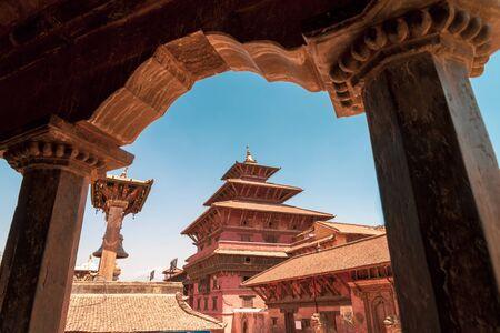 Beautiful ancient Patan Durbar Square, Kathmandu, Nepal