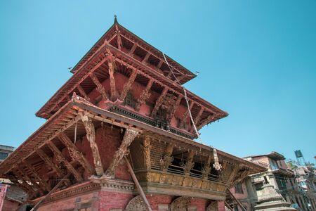 Bhimsen temple at ancient Patan Durbar Square, Kathmandu, Nepal