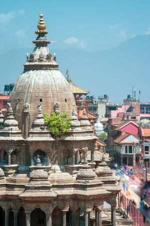Krishna Temple at ancient Patan Durbar Square Kathmandu, Nepal