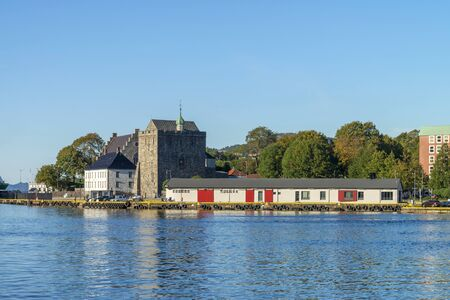 Bergenhus Fortress, one of the oldest and best preserved castles in Norway
