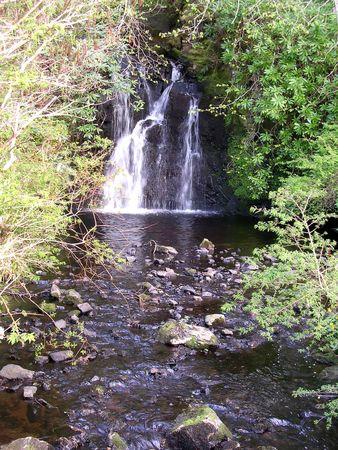 Waterfall somewhere in Scotland Stock Photo - 3612832