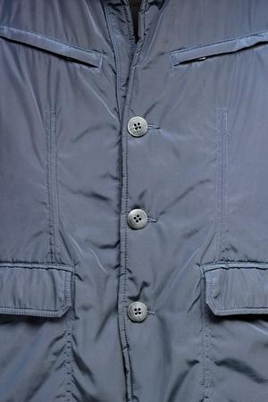 Background with blue elegant jacket