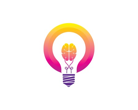 bulb idea,creative, concept illustration vector Banque d'images - 119517692