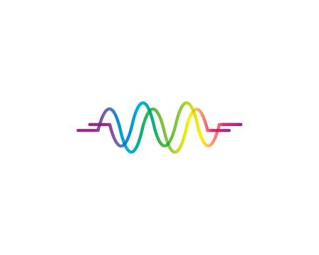 pulse icon vector template