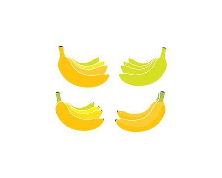 Banana logo vector illustration design