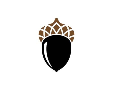 oak branch vector illustration template design Banque d'images - 119523434