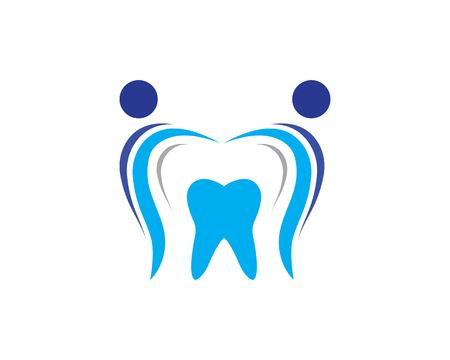 Smile Dental logo Template vector illustration icon design Banco de Imagens - 119524749