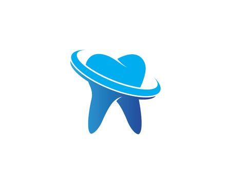 Dental logo Template vector illustration icon design Banco de Imagens - 119524753