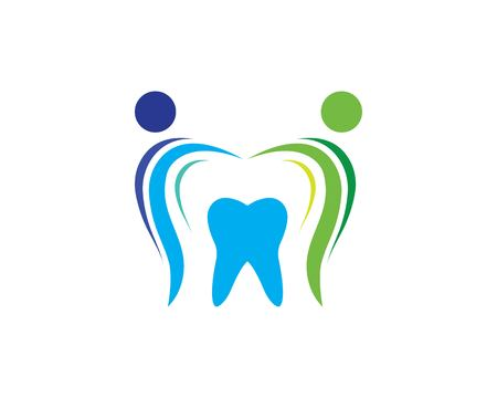 Smile Dental logo Template vector illustration icon design Banco de Imagens - 119525096