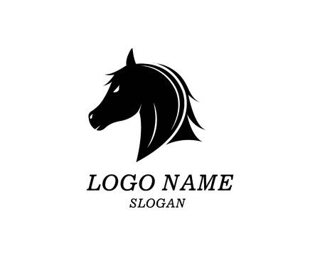 Horse Logo Template Vector illustration design Illustration