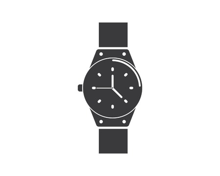 wristwatch icon vector template design template Vettoriali