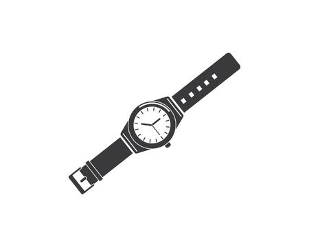 wristwatch icon vector template design template Illustration