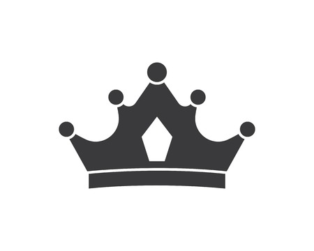 crown logo icon vector illustration design