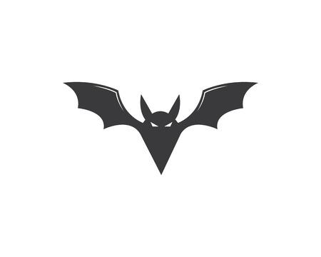 bat ilustration vector icon logo template Standard-Bild - 120259254