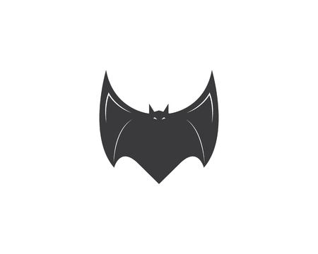 bat ilustration vector icon logo template Standard-Bild - 120259378
