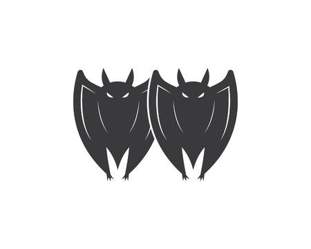 bat ilustration vector icon logo template Standard-Bild - 120259568
