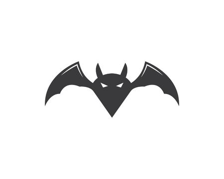 bat ilustration vector icon logo template Standard-Bild - 120259569