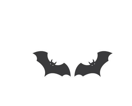 bat ilustration vector icon logo template Standard-Bild - 120259575
