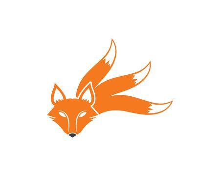 fox logo icon vector template design