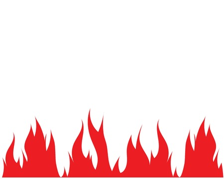 Fire flame Logo Template illustration design