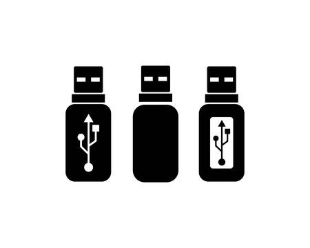 usb icon vector illustration template