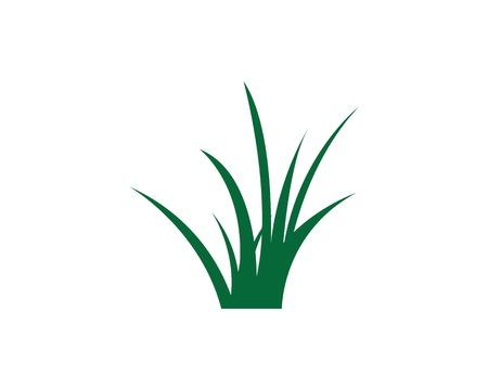grass vector illustration template design