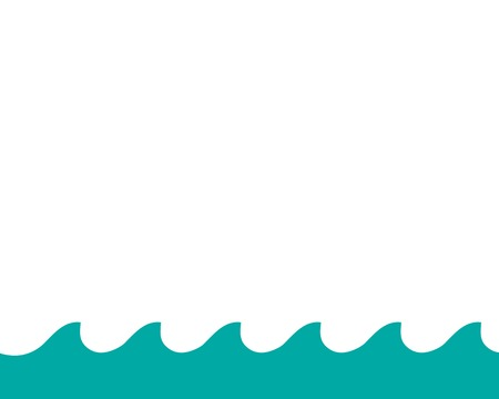Water Wave symbol and icon Logo Template vector Logo
