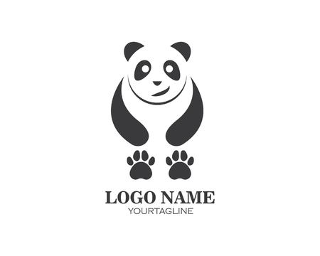 panda ilustration logo vector icon template Standard-Bild - 121102104