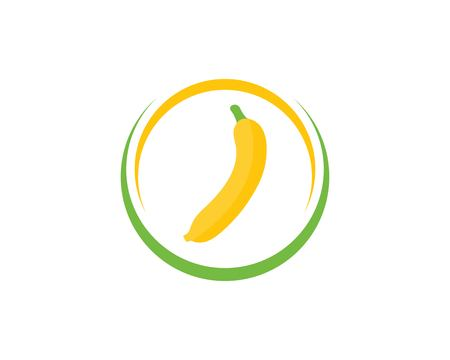 Banana logo vector illustration Stockfoto - 121101815