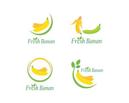 Banana logo vector illustration