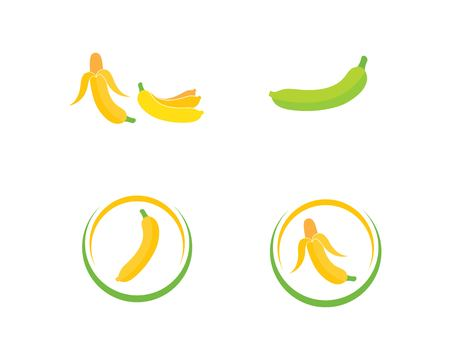 Banana logo vector illustration