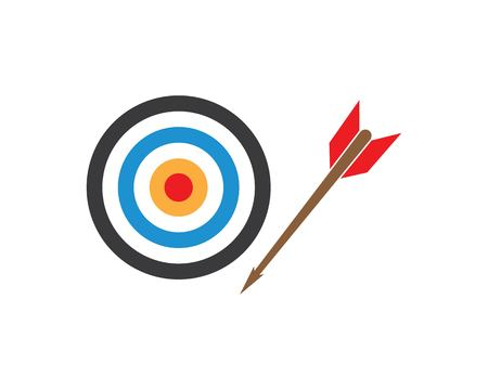 target vector,icon logo illustration template