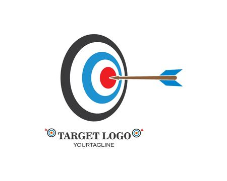 target vector,icon logo illustration template