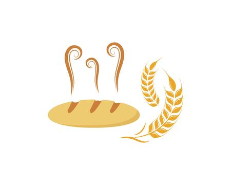 bakery logo vector illustration template