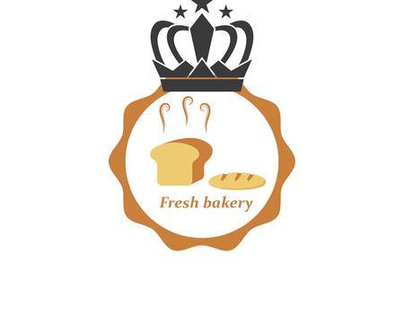 bakery logo vector illustration template