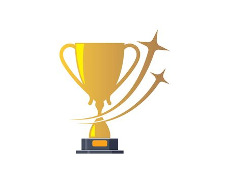 Trophy  vector icon winner illustration symbol 版權商用圖片 - 126646638
