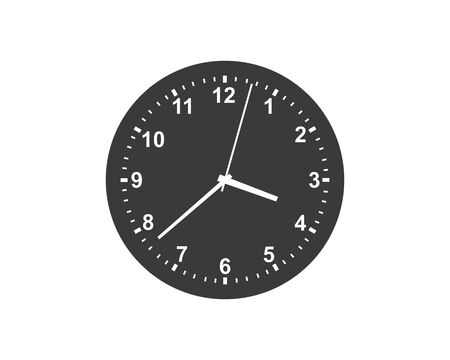 clock,time icon illustration design vector template
