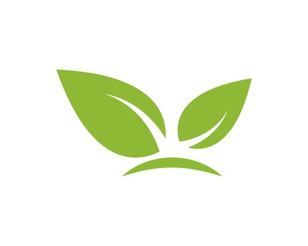 green leaf ecology nature element vector icon of go green design
